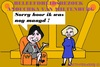 Cartoon: Anouchka van Miltenburg (small) by cartoonharry tagged anouchka,vanmiltenburg,karikatuur,2ekamer,voorzitter,nederland,parlement,koningin,cartoonist,cartoonharry,dutch,toonpool