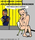 Cartoon: Assange Feels (small) by cartoonharry tagged assange,wikileaks,condom,prison,cartoon,comic,comix,comics,cool,coolert,cooles,design,erotic,erotik,art,toonpool,toonsup,facebook,arts,cartoonist,cartoonharry