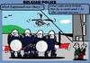 Cartoon: Belgian Police (small) by cartoonharry tagged belgium,police,smart