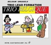 Cartoon: Belgium Formation (small) by cartoonharry tagged belgique,belgium,formation,trio,music,base,drums,guitar,dewever,vandelanotte,dirupio,cartoon,comic,comix,comics,artist,cool,cooler,art,arts,drawing,cartoonist,cartoonharry,dutch,toonpool,toonsup,facebook,hyves,linkedin,buurtlink,deviantart