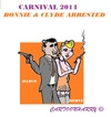 Cartoon: Carnival 2014 (small) by cartoonharry tagged holland,carnival,gangsters,marco,merve,bonnie,clyde,arrested