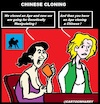 Cartoon: Chinese Cloning (small) by cartoonharry tagged cloning,cartoonharry