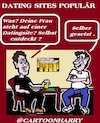 Cartoon: Dating Sites (small) by cartoonharry tagged dating,cartoonharry