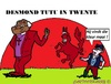 Cartoon: Desmond Tutu (small) by cartoonharry tagged desmondtutu,tutu,bischop,zuidafrika,twente,enschede,nederland,cartoon,cartoonist,cartoonharry,dutch,toonpool