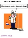 Cartoon: Dutch King s Day (small) by cartoonharry tagged netherlands,holland,dutch,kingsday