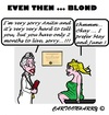 Cartoon: Even Then (small) by cartoonharry tagged blond,doctor,client,months,prefer