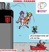 Cartoon: Gay Pride 2015 (small) by cartoonharry tagged holland,amsterdam,2015,gaypride,canalparade