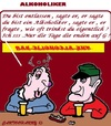 Cartoon: Gefeuert (small) by cartoonharry tagged alkoholiker,arbeit,heraus,tag
