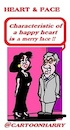 Cartoon: Heart and Face (small) by cartoonharry tagged heart,face,cartoonharry