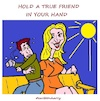 Cartoon: Hold (small) by cartoonharry tagged hold,cartoonharry