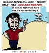 Cartoon: Iran and Nuclear Weapon (small) by cartoonharry tagged iran,israel,ahmadinejad,nuclear,weapon,cartoon,cartoonist,cartoonharry,dutch,toonpool