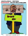 Cartoon: Julius Sello Malema (small) by cartoonharry tagged youth,anc,future,julius,malema,caricature,cartoon,cartoonist,cartoonharry,southafrica,africa,dutch,toonpool