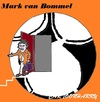 Cartoon: Mark van Bommel (small) by cartoonharry tagged vanbommel,markvanbommel,interland,voetbal,karikatuur,holland,cartoonist,cartoonharry,dutch,toonpool