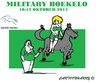 Cartoon: Military2013 (small) by cartoonharry tagged nederland,boekelo,military2013