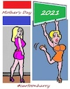 Cartoon: Mothers Day (small) by cartoonharry tagged mothersday2021