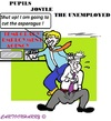 Cartoon: My Job (small) by cartoonharry tagged asparagus,unemployed,pupil,work,cartoons,cartoonharry,dutch,toonpool