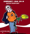 Cartoon: National Tulips Day (small) by cartoonharry tagged holland,tulips,tulipsday,2016