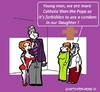 Cartoon: No Condom Use (small) by cartoonharry tagged condom,daddy,mummy,daughter,soninlaw,cartoon,cartoonist,dutch,holland,cartoonharry,toonpool