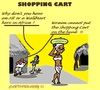Cartoon: No ShoppingCarts (small) by cartoonharry tagged africa,shopping,carts
