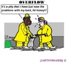 Cartoon: Overflow (small) by cartoonharry tagged water,overflow,sandbags,fill,cartoons,cartoonists,cartoonharry,easteurop,dutch,holland,middleeurop,back,toonpool