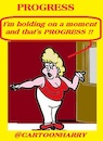 Cartoon: Progress (small) by cartoonharry tagged progress,cartoonharry
