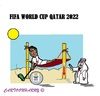 Cartoon: Qatar 2022 FIFA (small) by cartoonharry tagged soccer,worldcup,fifa,qatar,2022,hot,weather,corruption