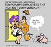 Cartoon: Run Out (small) by cartoonharry tagged postman,tnt,run,cartoonharry