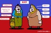 Cartoon: Russen sagen ... (small) by cartoonharry tagged rusland,russen,njet,lisa,kapital,putin,medvedev