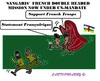 Cartoon: Sangaris (small) by cartoonharry tagged centralafrica,france,un,military,mission