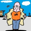 Cartoon: Schau Mal (small) by cartoonharry tagged schau,mal,haha