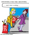 Cartoon: Shopping (small) by cartoonharry tagged shopping