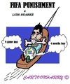 Cartoon: Transport Luis Suarez (small) by cartoonharry tagged fifa,soccer,brasil,suarez,bite,transport,punishment,uruguay