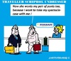 Cartoon: Traveller Undressed (small) by cartoonharry tagged schiphol,amsterdam,traveller,undressing,expensive,suitcase,airport,cartoons,cartoonharry,cartoonists,dutch,toonpool