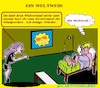 Cartoon: Welt Weib (small) by cartoonharry tagged grippe,welt,weib