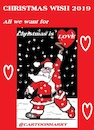 Cartoon: Xmas Wish2019 (small) by cartoonharry tagged xmas,wish,2019,cartoonharry