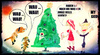 Cartoon: Jingle Bells (small) by Vanessa tagged weihnachten,christmas,dogs,hunde,baum,fest