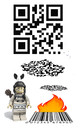 Cartoon: QR-CODE (small) by mimbo tagged qr,code,barcode,ean,pixel