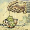 Cartoon: Money (small) by igor smirnov tagged money,greed,bank