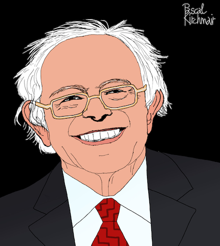 Cartoon: Bernie Sanders (medium) by Pascal Kirchmair tagged bernard,vermont,new,york,city,bernie,sanders,for,president,usa,dibuix,illustration,drawing,zeichnung,pascal,kirchmair,cartoon,caricature,karikatur,ilustracion,dibujo,desenho,ink,disegno,ilustracao,illustrazione,illustratie,dessin,de,presse,du,jour,art,of,the,day,tekening,teckning,cartum,vineta,comica,vignetta,caricatura,portrait,porträt,portret,retrato,ritratto,senator,democrats,democratic,party,demokraten,congress,bernard,vermont,new,york,city,bernie,sanders,for,president,usa,dibuix,illustration,drawing,zeichnung,pascal,kirchmair,cartoon,caricature,karikatur,ilustracion,dibujo,desenho,ink,disegno,ilustracao,illustrazione,illustratie,dessin,de,presse,du,jour,art,of,the,day,tekening,teckning,cartum,vineta,comica,vignetta,caricatura,portrait,porträt,portret,retrato,ritratto,senator,democrats,democratic,party,demokraten,congress