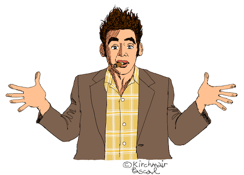 Cartoon: Cosmo Kramer (medium) by Pascal Kirchmair tagged cosmo,kramer,seinfeld,michael,richards,cartoon,caricature,drawing,karikatur,portrait,retrato,illustration,dibujo,disegno,zeichnung,desenho,cosmo,kramer,seinfeld,michael,richards,cartoon,caricature,drawing,karikatur,portrait,retrato,illustration,dibujo,disegno,zeichnung,desenho