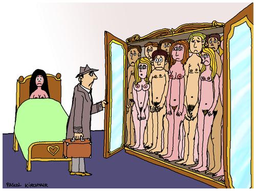 cartoon adultery
