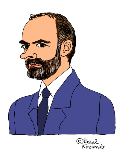 Cartoon: Edouard Philippe (medium) by Pascal Kirchmair tagged edouard,philippe,premier,ministre,france,caricature,karikatur,dessin,humour,dibujo,desenho,disegno,illustration,cartoon,zeichnung,humor,frankreich,paris,matignon,edouard,philippe,premier,ministre,france,caricature,karikatur,dessin,humour,dibujo,desenho,disegno,illustration,cartoon,zeichnung,humor,frankreich,paris,matignon