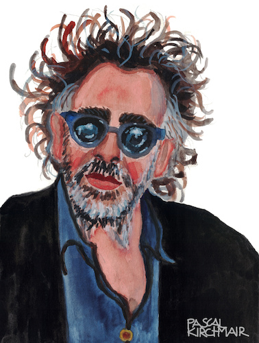 Cartoon: Tim Burton (medium) by Pascal Kirchmair tagged tim,burton,caricature,karikatur,portrait,retrato,dibujo,desenho,illustration,drawing,zeichnung,pascal,kirchmair,porträt,ritratto,disegno,dessin,portret,cartum,cartoon,usa,hollywood,ilustracao,ilustracion,tim,burton,caricature,karikatur,portrait,retrato,dibujo,desenho,illustration,drawing,zeichnung,pascal,kirchmair,porträt,ritratto,disegno,dessin,portret,cartum,cartoon,usa,hollywood,ilustracao,ilustracion