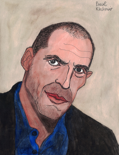 Cartoon: Yanis Varoufakis (medium) by Pascal Kirchmair tagged yanis,varoufakis,portrait,retrato,drawing,illustration,dibujo,caricature,caricatura,karikatur,pascal,kirchmair,desenho,dessin,ilustracion,ilustracao,illustrazione,zeichnung,cartoon,greece,griechenland,grece,grecia,yanis,varoufakis,portrait,retrato,drawing,illustration,dibujo,caricature,caricatura,karikatur,pascal,kirchmair,desenho,dessin,ilustracion,ilustracao,illustrazione,zeichnung,cartoon,greece,griechenland,grece,grecia
