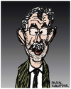 Cartoon: Alexander Van der Bellen (small) by Pascal Kirchmair tagged alexander,van,der,bellen,karikatur,caricature,cartoon,portrait