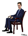 Cartoon: Baschar al-Assad (small) by Pascal Kirchmair tagged baschar,al,assad,karikatur,caricature,portrait,cartoon,vignetta,syrien,syria,baath,alawiten