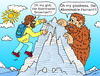 Cartoon: Yeti (small) by Pascal Kirchmair tagged legende,bigfoot,yeti,reinhold,messner,himalaya,mount,everest
