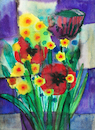 Cartoon: Blumenstrauß mit Mohnblumen (small) by Pascal Kirchmair tagged blumen,blumenstrauß,mohnblumen,bouquet,with,poppies,garten,garden,haus,zirl,aquarell,blumenaquarell,painting,bild,watercolor,watercolour,wild,flowers,cuadro,quadro,picture,jardin,peinture,dipinto,pittura,pintura,artwork,arte,art,kunst,illustration,drawing,zeichnung,pascal,kirchmair,ilustracion,dibujo,desenho,ink,disegno,ilustracao,illustrazione,illustratie,dessin,du,jour,of,the,day,tekening,teckning,giardino,composition,komposition