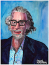 Cartoon: Bob Mankoff (small) by Pascal Kirchmair tagged robert,bob,mankoff,the,new,yorker,cartoonist,portrait,retrato,karikatur,caricature,ritratto,drawing,dessin,zeichnung,cartum,cartoon