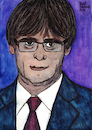Cartoon: Carles Puigdemont (small) by Pascal Kirchmair tagged carles puigdemont porträt dibuix illustration drawing zeichnung pascal kirchmair cartoon caricature karikatur ilustracion dibujo desenho ink disegno ilustracao illustrazione illustratie dessin de presse du jour art of the day tekening teckning cartum vineta comica vignetta caricatura portrait retrato ritratto portret aquarelle watercolor watercolour acquarello acuarela aguarela aquarela catalonia catalogne cataluna catalunya espana spain spanien espagne barcelona madrid